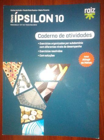 Cadernos de atividades 10 ano- várias disciplinas- ver fotos