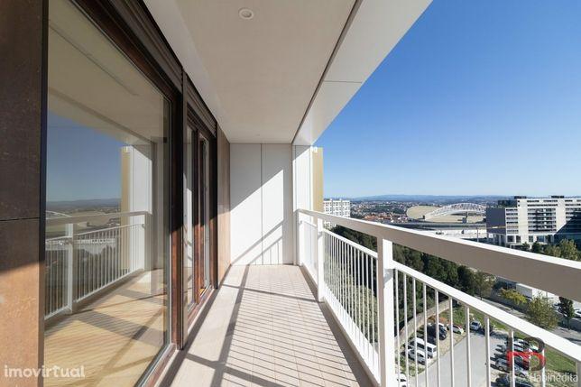 T3 para arrendamento - Edifício Antas Garden - Condomínio Fechado