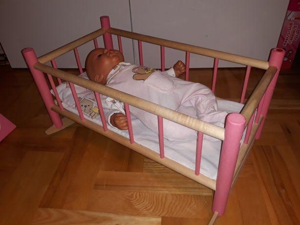 łóżeczko - kołyska dla lalek