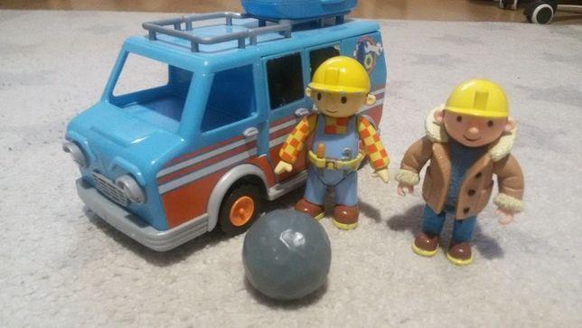 Mega zestaw Bob budowniczy Kamper Auto gratis spychacz quad