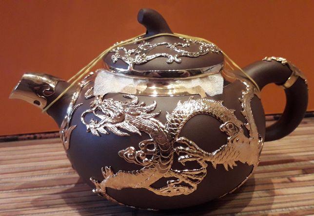 Чайный сервиз Золотой дракон
