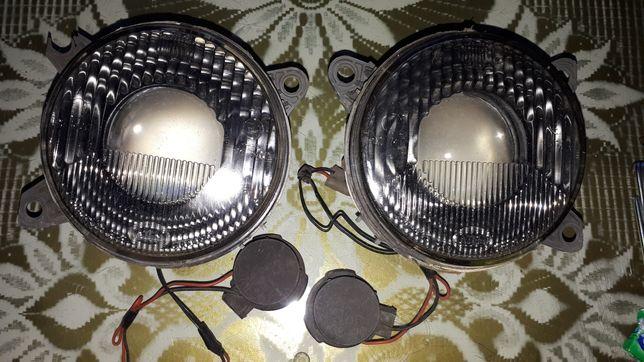 Lampy black hella bi xenon bmw e32 e34 nowe szkła