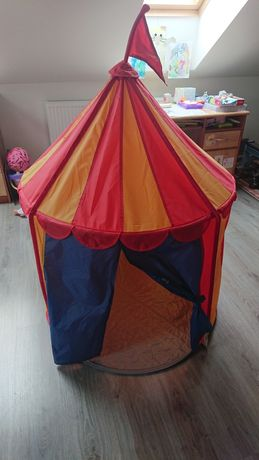 Ikea namiot zamek cyrk