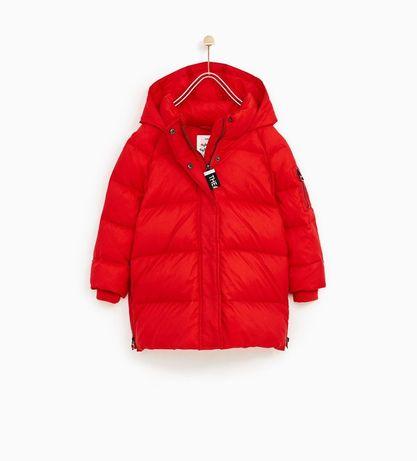 Пуховик, пальто, куртка Zara 164 розмір