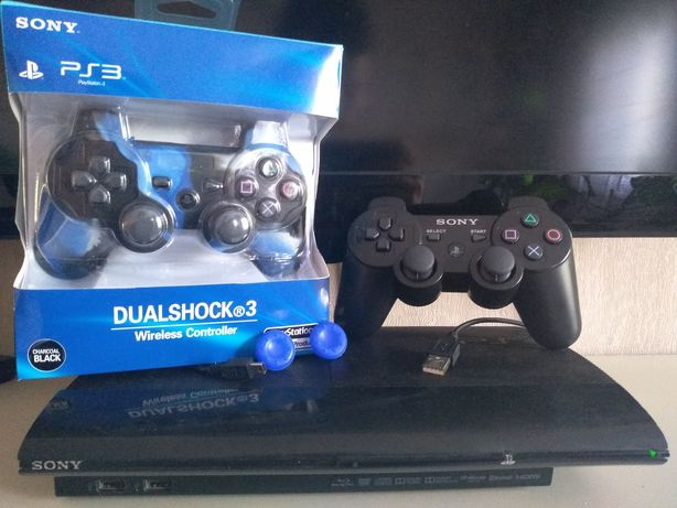Игровая приставка PS 3 super slim  500gb HEN