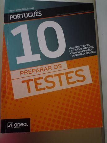 Preparar os Testes Português 10º ano Areal Editores Novo