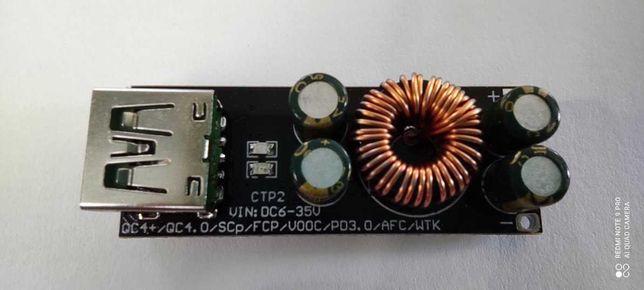 QC4.0 QC3.0 USB szybka ładowarka adapter/moduł 6 -35V