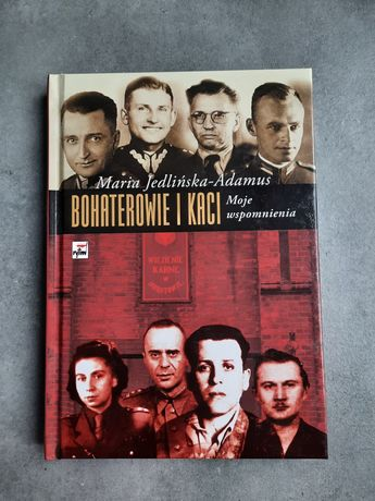 """Książka ,,Bohaterowie i kaci"""""""