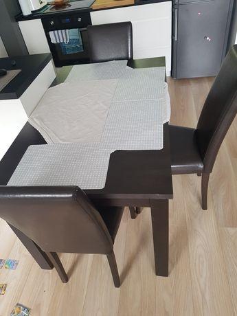 Stół rozkładany z 6 krzesłami