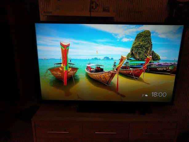 Telewizor 49 cali  Smart TV cały komplet