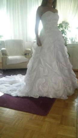 Suknia ślubna TANIO rozm. 36-40