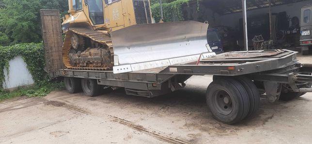Niskopodwozie przyczepa ciężarowa Schwarzmuller