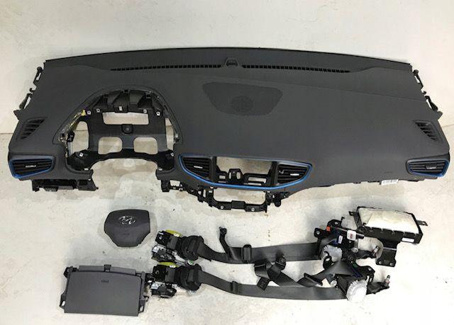 Hyundai Ioniq cintos airbags tablier