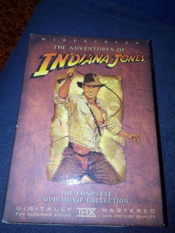 Série de dvds Indiana Jones