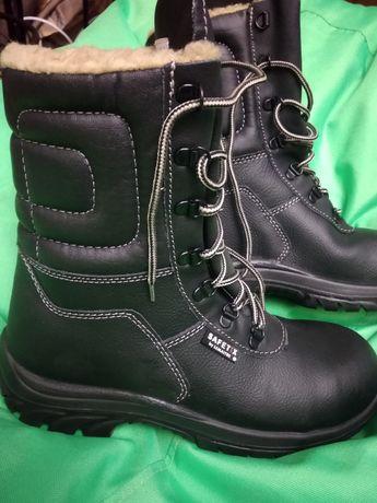 Спец ботинки SAFETIX, рабочие, зима