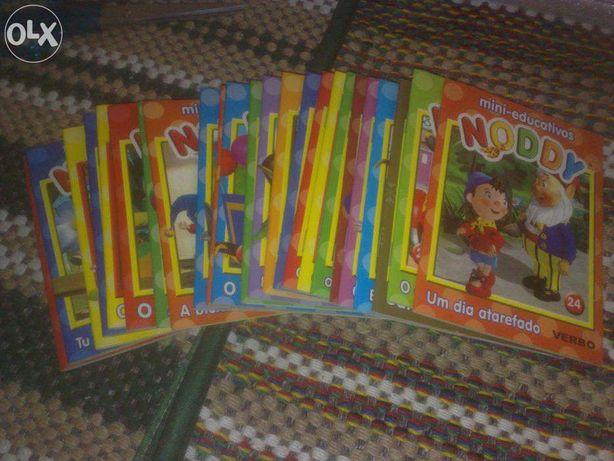 colecção completa mini-educativos Noddy da Verbo