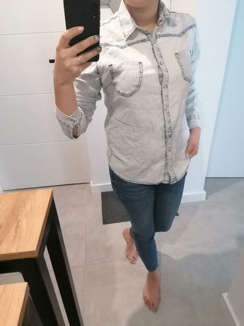 Koszula Damska. Kolor Jeans