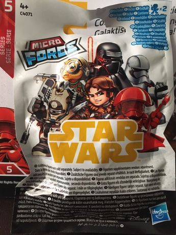 Звёздные войны,Star Wars Micro Force,5-й выпуск,полная коллекция