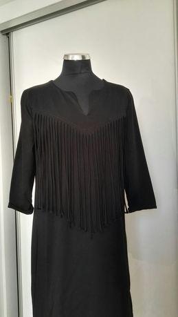 Czarna sukienka AMISU rozm S/M