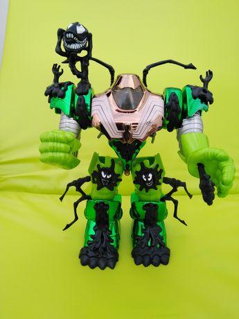 Boneco Spider - Man Mega-Armor Venom