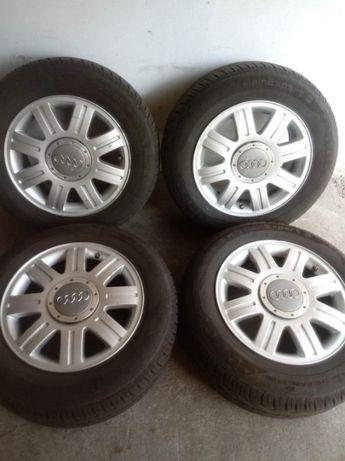Opony letnie+alufelgi Audi A4