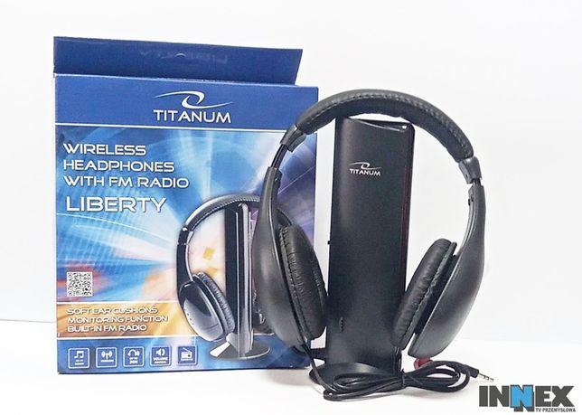 Nowy!!! Słuchawki TITANUM LIBERTY TH110
