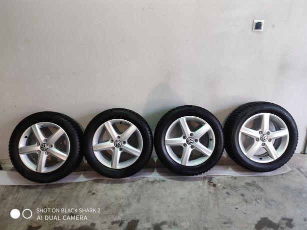 "Koła aluminiowe VW Golf ""Salonowe"" 205/55 R16"