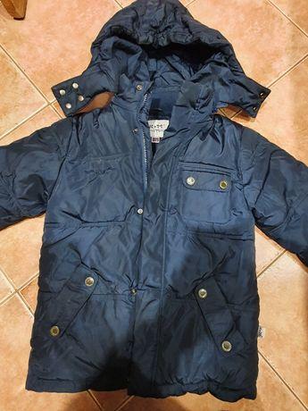 Куртка зимняя для мальчика, очень теплая, размер 116