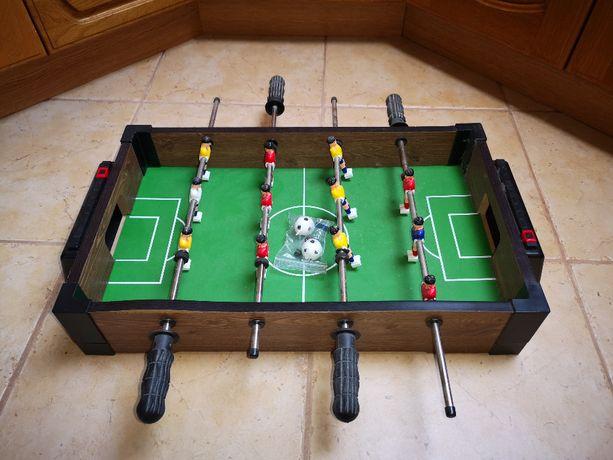 Mini stół do gry w piłkarzyki 58x51x10 cm