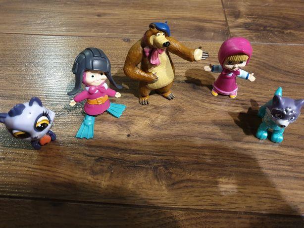 Figurki masza i niedźwiedź lps toys psi patrol