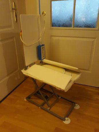 Krzesło kąpielowe prysznicowe elektryczne