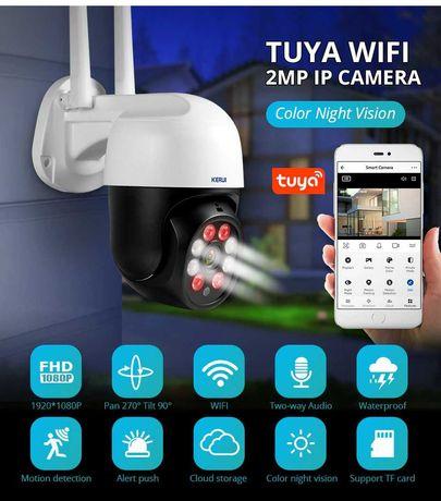 Kamera zewnetrzna KERUI Tuya 2MP bezprzewodowa WiFi