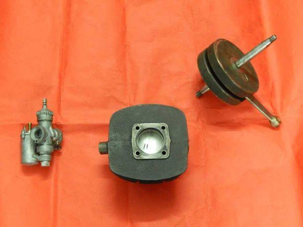 Wsk 125 Pakiet Zmd -Cylinder -Wał -Gaźnik _Oryginał