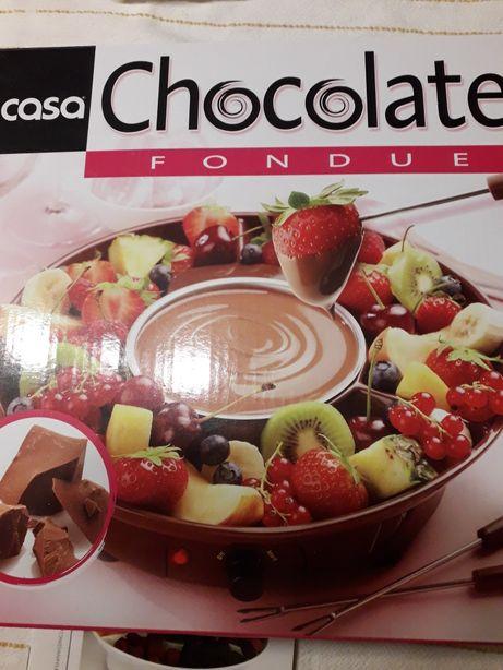 Fondue de Chocolate - Casa