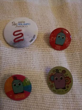 Pins para coleção