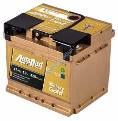 Akumulator AutoPart Galaxy Gold 12V 47 Ah / 480 A