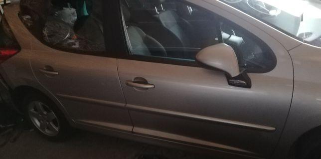 Drzwi Peugeot 207