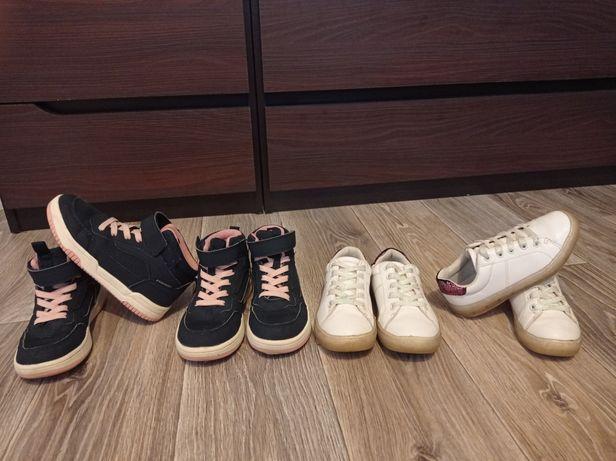 Кроссовки, хай-топы H&M, кеды Primark, Zara для девочки