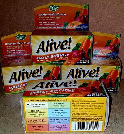 Alive opti women вітаміни 60табл.з Америки