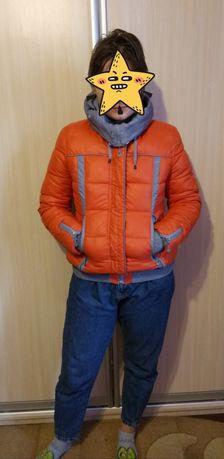 Куртка короткая зимняя, зимова курточка, 48 р.