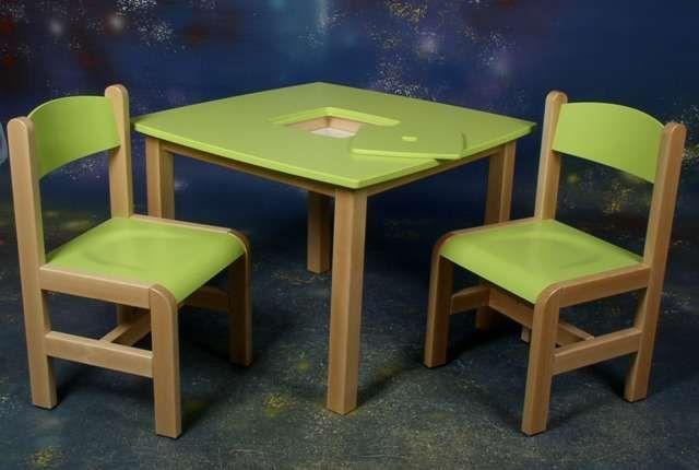 Stolik + 2 krzesełka dla dzieci MINI