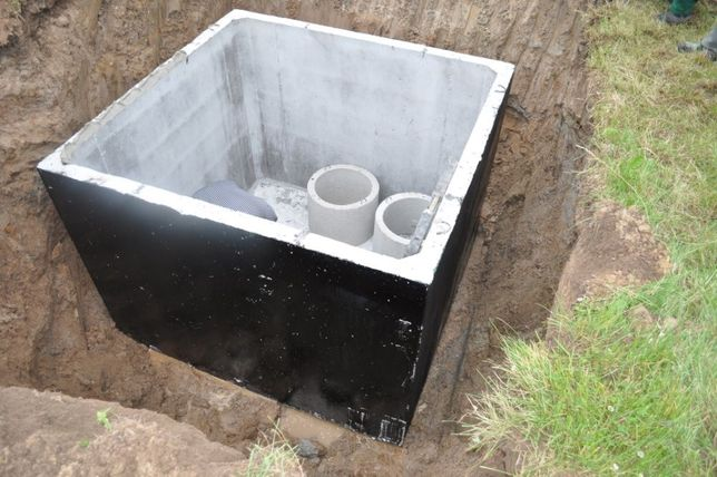 Zbiornik betonowy na gnojowicę gnojówkę szamba 12m3 betonowe szambo