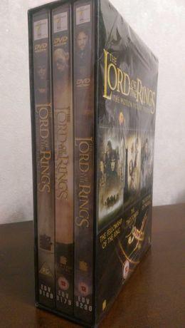 The Lord of the rings DVD трилогия Властелин колец на английском