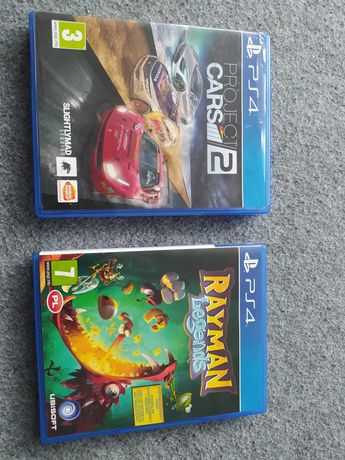Rayman & project cars 2 PS4