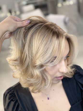 Окрашивание волос колористика airtouch балаяж ликоград венеция