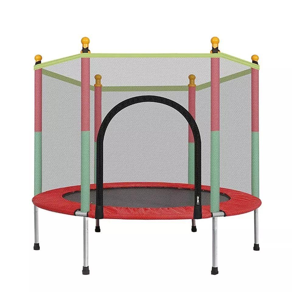 Trampolim crianças - cama elástica 140cm - NOVO