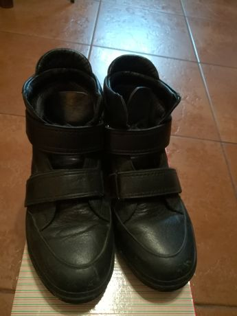 Ботинки кожаные демисезонные, бренд K.Pafi 37 размер