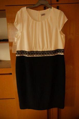 Piękna elegancka sukienka rozm 50 NOWA