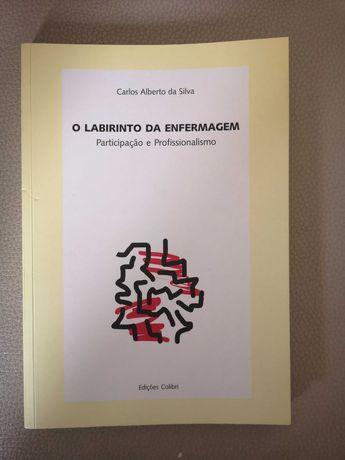 """Livro """"O Labirinto da Enfermagem"""""""