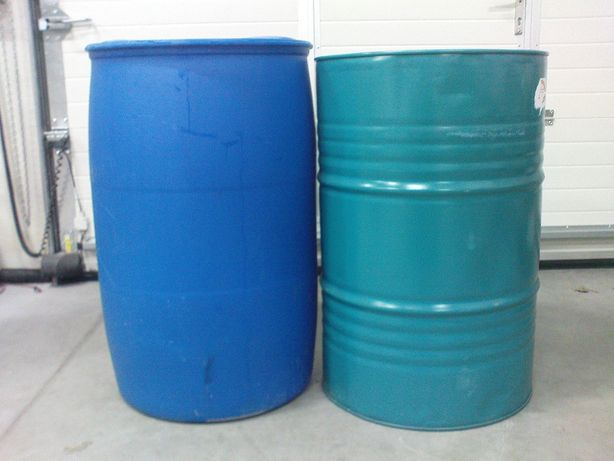 Beczki 200 litrowe plastikowe i metalowe